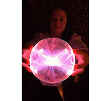 Electric fortune teller Photographic Print