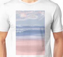 Serenity Beach at Rose Quartz Cove/Pantone Colour of the year 2016 Unisex T-Shirt