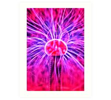 It's electric ! Art Print