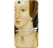 Cut Here - Anne Boleyn iPhone Case/Skin