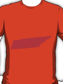 Tennessee in Red T-Shirt