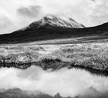 Below Errigal by Alan Owens