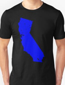 California in Blue T-Shirt