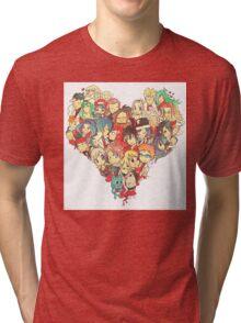 fairy tail <3 Tri-blend T-Shirt