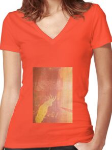 Cocky I Women's Fitted V-Neck T-Shirt