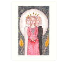 Goddess - Hekate Art Print