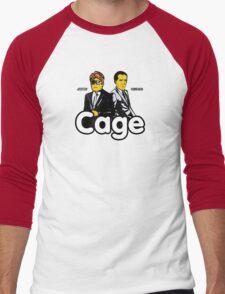Cage (Version 2) Men's Baseball ¾ T-Shirt