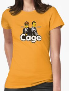 Cage (Version 2) Womens Fitted T-Shirt