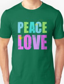 Inked Peace and Love Unisex T-Shirt
