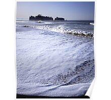 James Island from Rialto Beach, Olympic National Park, Washington Poster