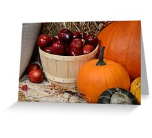 Autumn's Bounty Greeting Card