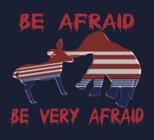 Be Afraid Democrats & Republicans Unite Kids Tee