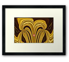Happy As A Heart Can Be by Elisabeth and Barry King™ Framed Print