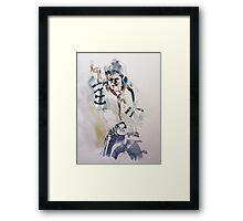 11 BAD MJ Framed Print
