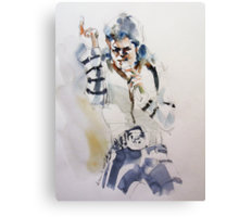 11 BAD MJ Canvas Print