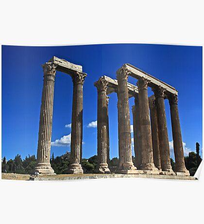 Temple of Zeus Poster