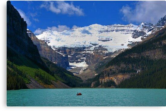 Victoria Glacier  and Lake Louise by JamesA1