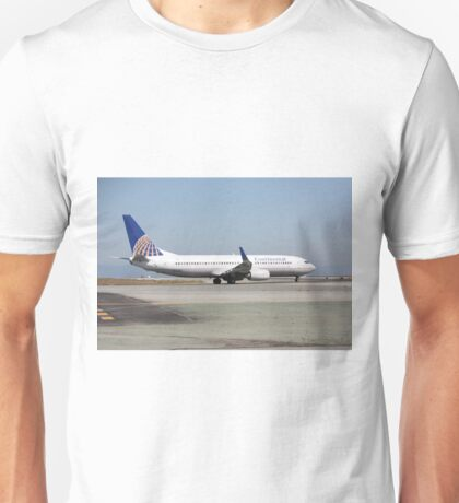 Continental Airlines Boeing 737 Unisex T-Shirt