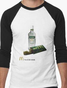 mc vodka Men's Baseball ¾ T-Shirt