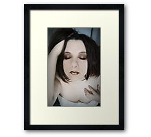 To tread this fantasy, openly Framed Print