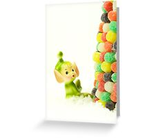Holly the Pixie Elf Greeting Card