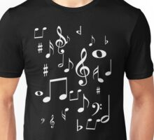 Music notes Unisex T-Shirt