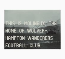 Woverhampton Wanderers Football Club Kids Clothes