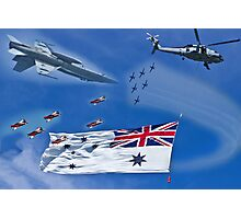 Aircraft from Sydney Navy Review Photographic Print