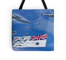 Aircraft from Sydney Navy Review Tote Bag