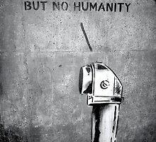 Banksy I See Humans But No Humanity by ErsyaNitya04