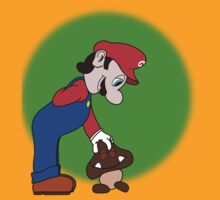 Mario showing his soft side by SoulForBrains
