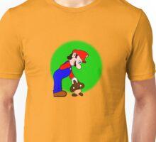 Mario showing his soft side Unisex T-Shirt
