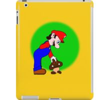 Mario showing his soft side iPad Case/Skin