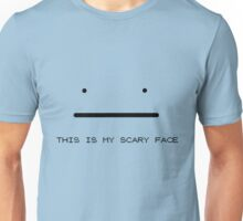 Scary Face Unisex T-Shirt