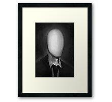 Slender Portrait Framed Print