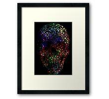 Hey spaceman, I like your glitter :: V1 Framed Print
