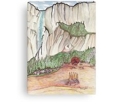 Graceful Yosemite Valley Canvas Print