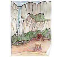 Graceful Yosemite Valley Poster