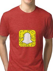 custom snapcode  Tri-blend T-Shirt