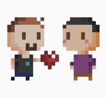 Pixel Boyfriends One Piece - Short Sleeve