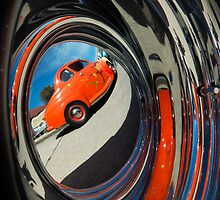 Hot Rod Reflection by DonnaLB