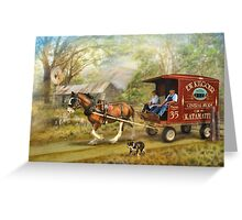 Rural Deliveries  Greeting Card