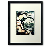 His view. Framed Print
