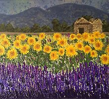 Fields of Provence by Wendy Sinclair