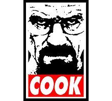 Heisenberg COOK! Photographic Print