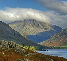 Great Gable From Wastwater by Jamie  Green