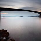 Skye bridge Sunset by Grant Glendinning