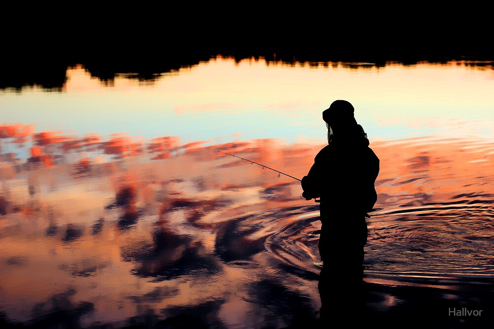Fishing by Hallvor