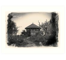 Observation post Art Print