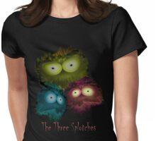 Three Splotchies Womens Fitted T-Shirt